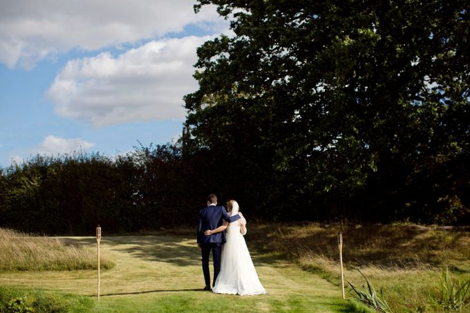 An outdoor English humanist wedding by Caught the Light - 009