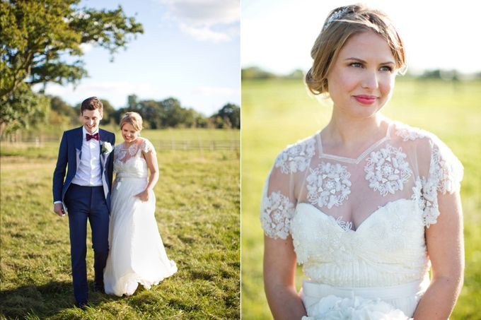 An outdoor English humanist wedding by Caught the Light - 017