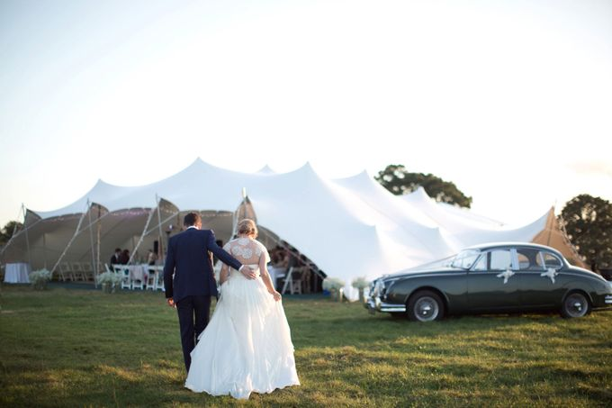An outdoor English humanist wedding by Caught the Light - 021