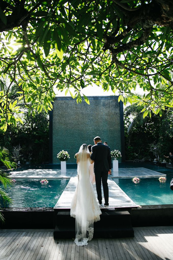 The Wedding of Eric & Yvonne by Awarta Nusa Dua Resort & Villas - 009