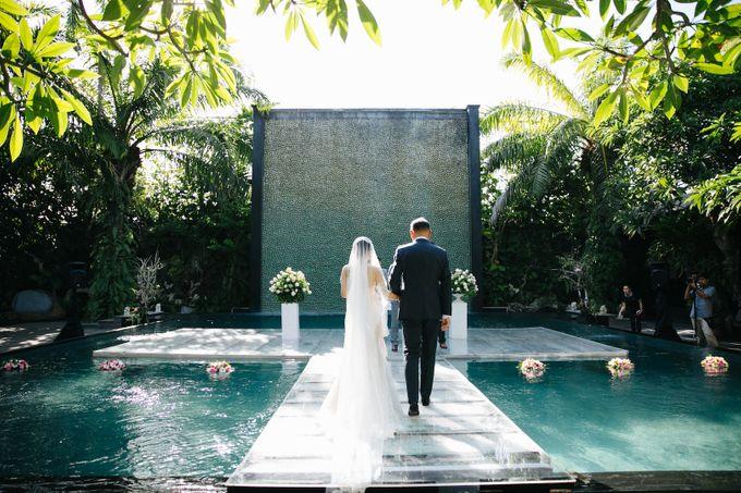 The Wedding of Eric & Yvonne by Awarta Nusa Dua Resort & Villas - 011