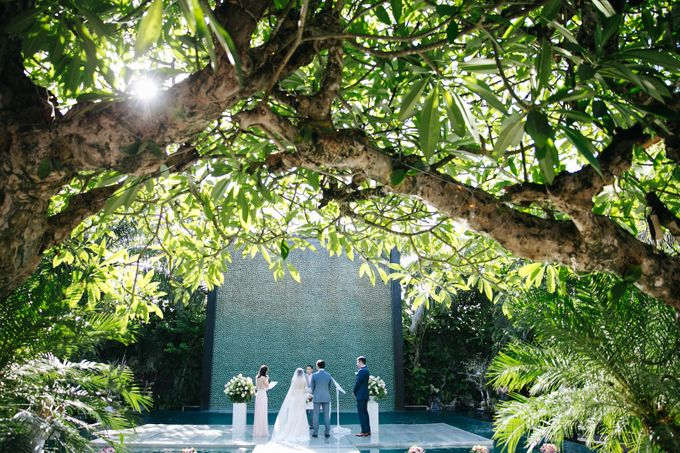 The Wedding of Eric & Yvonne by Awarta Nusa Dua Resort & Villas - 011