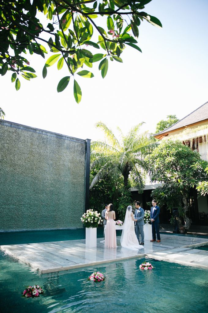 The Wedding of Eric & Yvonne by Awarta Nusa Dua Resort & Villas - 012