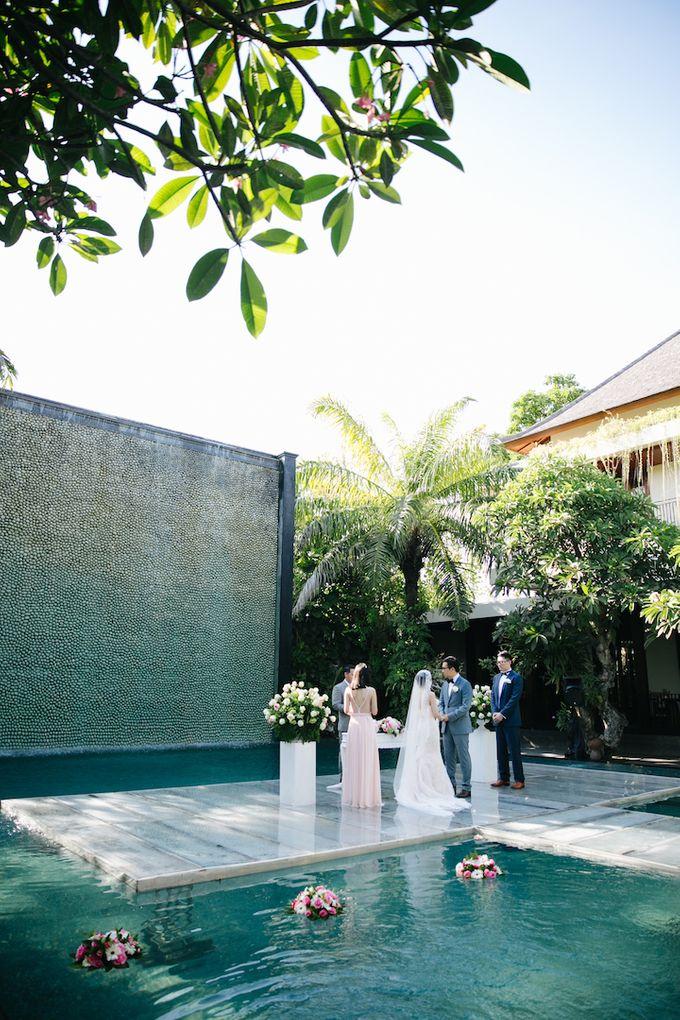 The Wedding of Eric & Yvonne by Awarta Nusa Dua Resort & Villas - 013