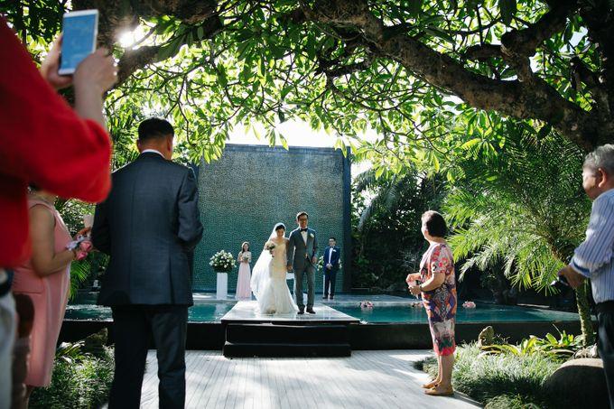 The Wedding of Eric & Yvonne by Awarta Nusa Dua Resort & Villas - 014