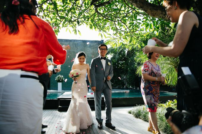 The Wedding of Eric & Yvonne by Awarta Nusa Dua Resort & Villas - 014