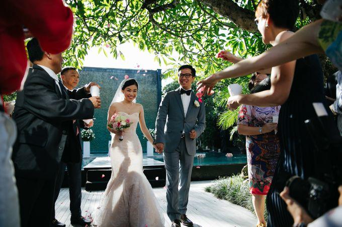 The Wedding of Eric & Yvonne by Awarta Nusa Dua Resort & Villas - 016