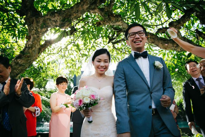The Wedding of Eric & Yvonne by Awarta Nusa Dua Resort & Villas - 018