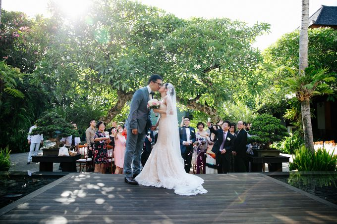 The Wedding of Eric & Yvonne by Awarta Nusa Dua Resort & Villas - 019