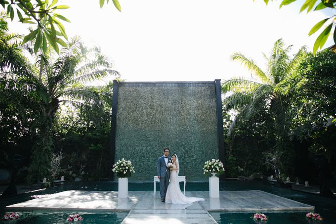 The Wedding of Eric & Yvonne by Awarta Nusa Dua Resort & Villas - 020