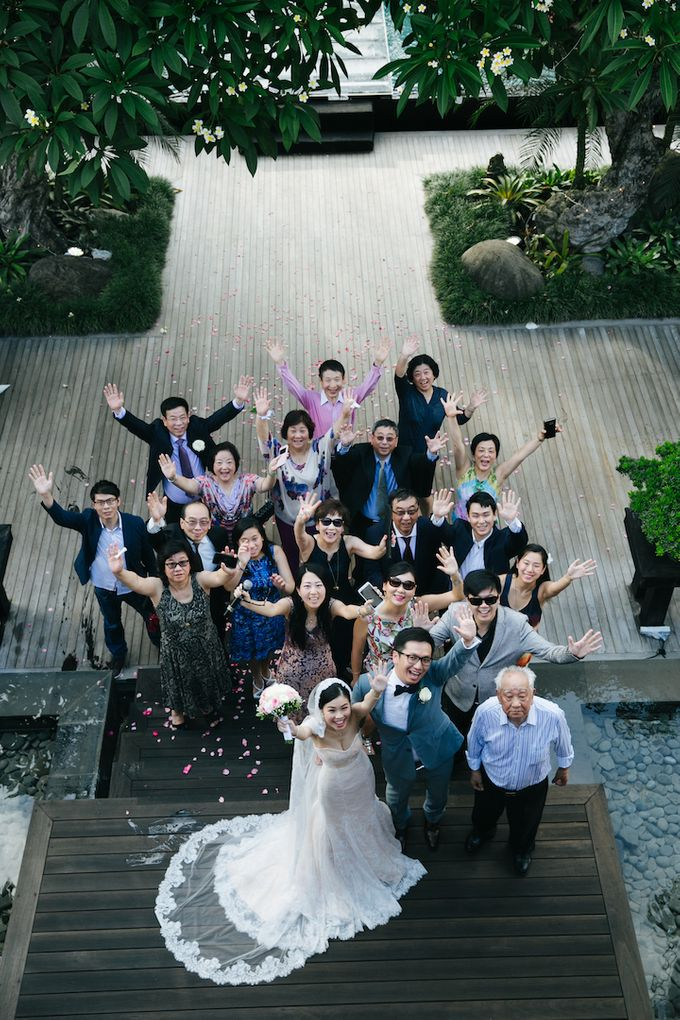 The Wedding of Eric & Yvonne by Awarta Nusa Dua Resort & Villas - 022