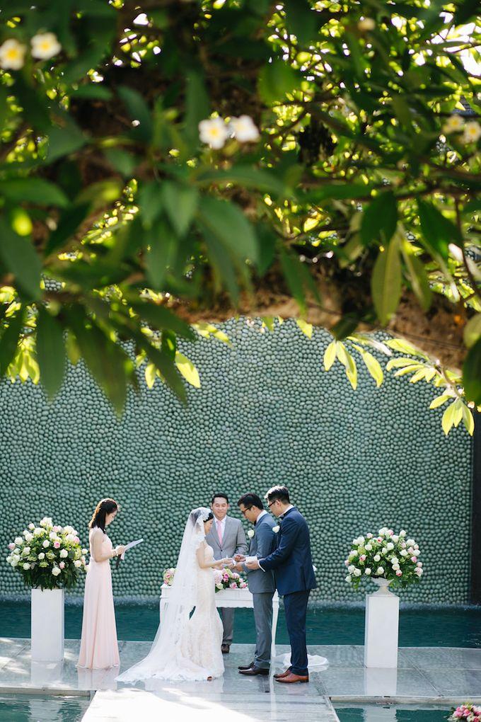 The Wedding of Eric & Yvonne by Awarta Nusa Dua Resort & Villas - 028