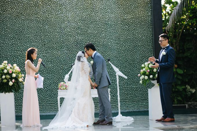 The Wedding of Eric & Yvonne by Awarta Nusa Dua Resort & Villas - 028