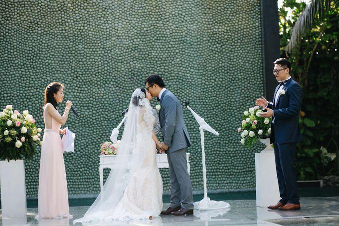 The Wedding of Eric & Yvonne by Awarta Nusa Dua Resort & Villas - 029