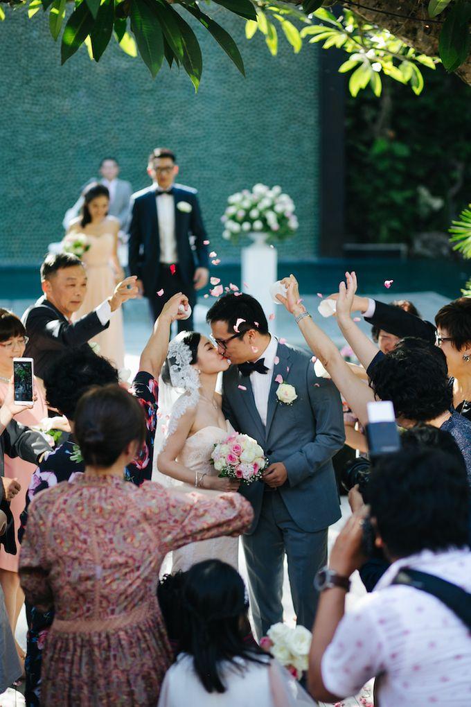 The Wedding of Eric & Yvonne by Awarta Nusa Dua Resort & Villas - 030