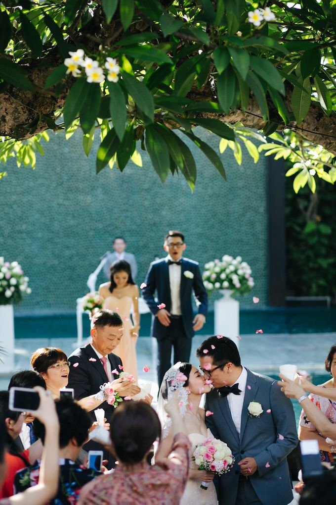 The Wedding of Eric & Yvonne by Awarta Nusa Dua Resort & Villas - 030