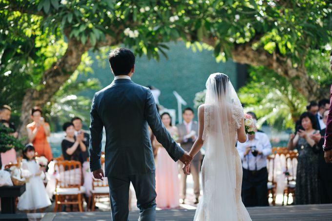 The Wedding of Eric & Yvonne by Awarta Nusa Dua Resort & Villas - 032