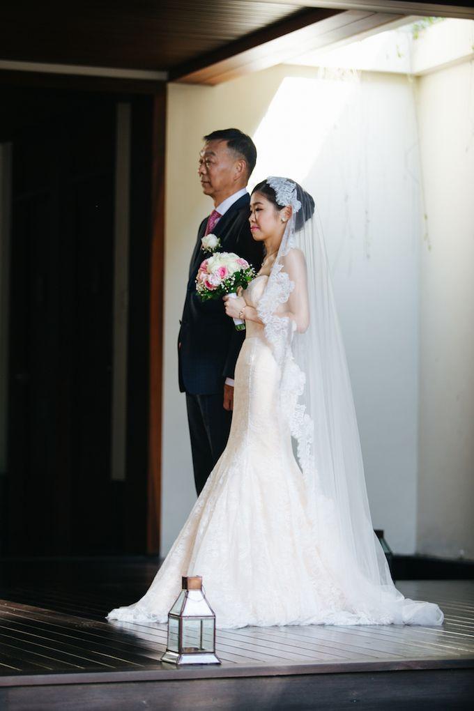 The Wedding of Eric & Yvonne by Awarta Nusa Dua Resort & Villas - 034