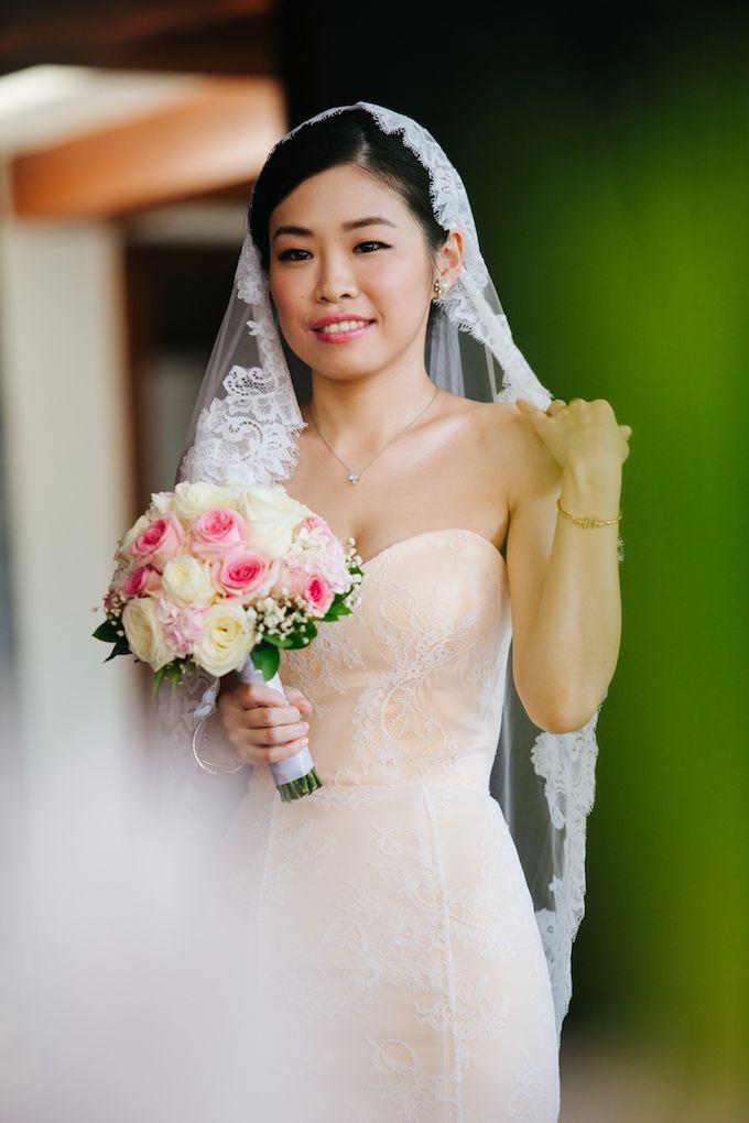The Wedding of Eric & Yvonne by Awarta Nusa Dua Resort & Villas - 036