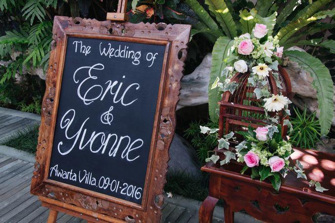 The Wedding of Eric & Yvonne by Awarta Nusa Dua Resort & Villas - 038