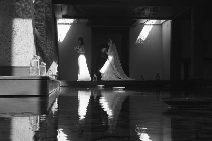 The Wedding of Eric & Yvonne by Awarta Nusa Dua Resort & Villas - 043