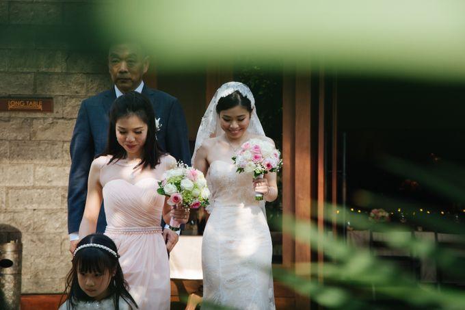 The Wedding of Eric & Yvonne by Awarta Nusa Dua Resort & Villas - 044