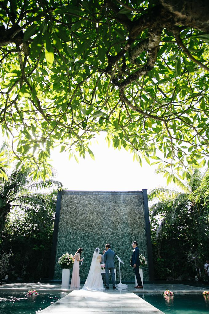 The Wedding of Eric & Yvonne by Awarta Nusa Dua Resort & Villas - 045