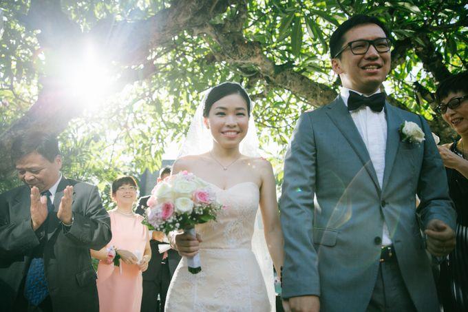 The Wedding of Eric & Yvonne by Awarta Nusa Dua Resort & Villas - 047