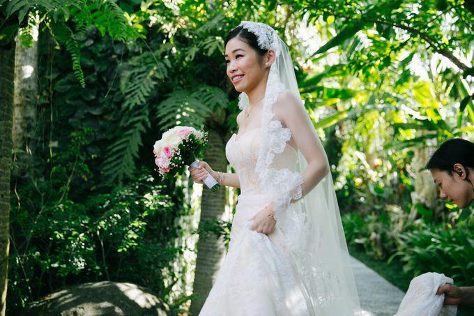 The Wedding of Eric & Yvonne by Awarta Nusa Dua Resort & Villas - 008