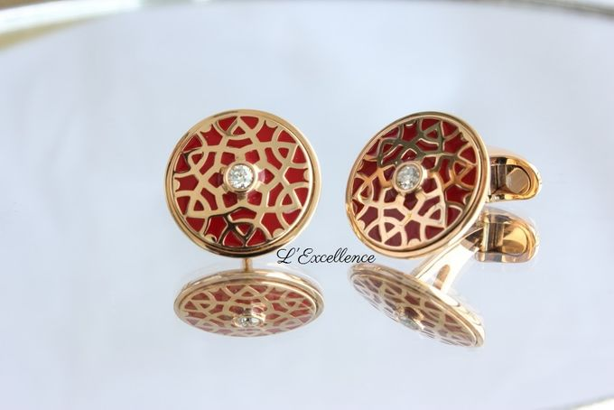Must-Have Cufflinks & Chevalieres for the Groom by L'Excellence Diamond - 001