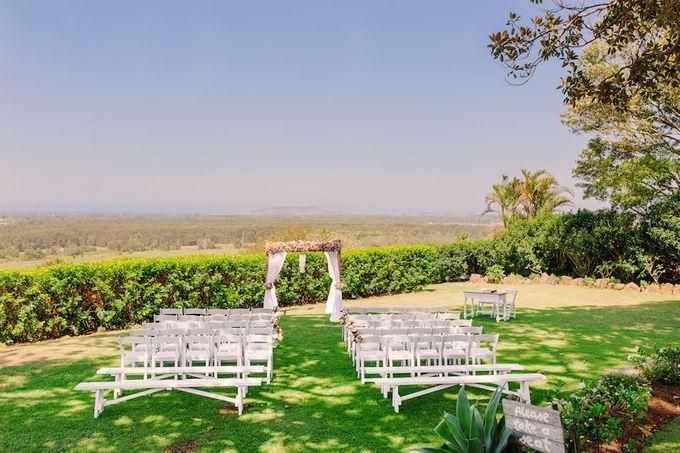 Floral Wedding by Gold Coast Wedding Hire - 001