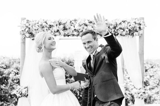 Floral Wedding by Gold Coast Wedding Hire - 009