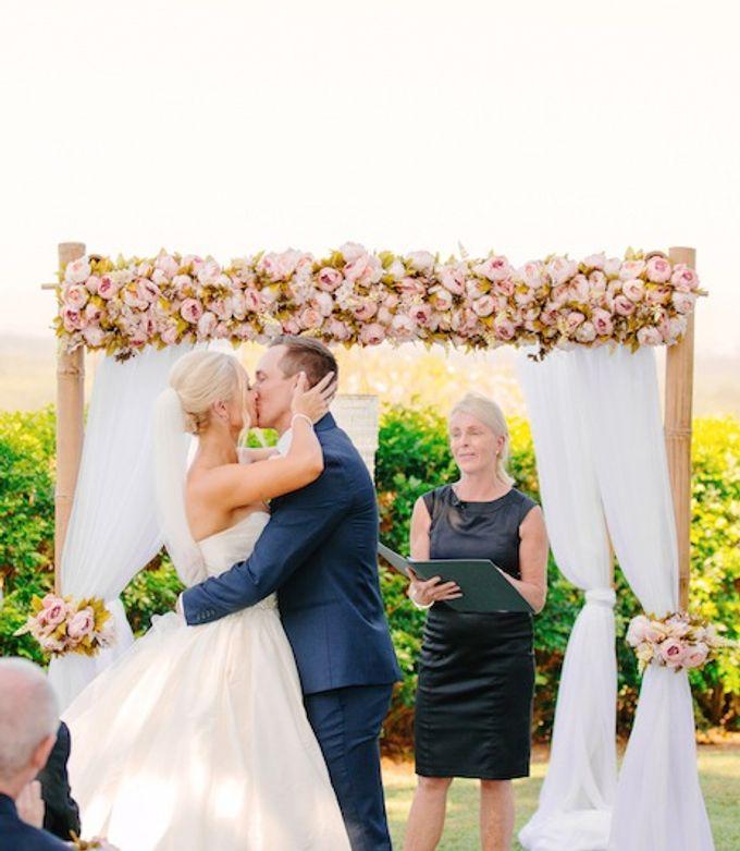 Floral Wedding by Gold Coast Wedding Hire - 002
