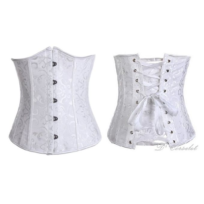 Brocade Underbust by D' Corselet Singapore - 001