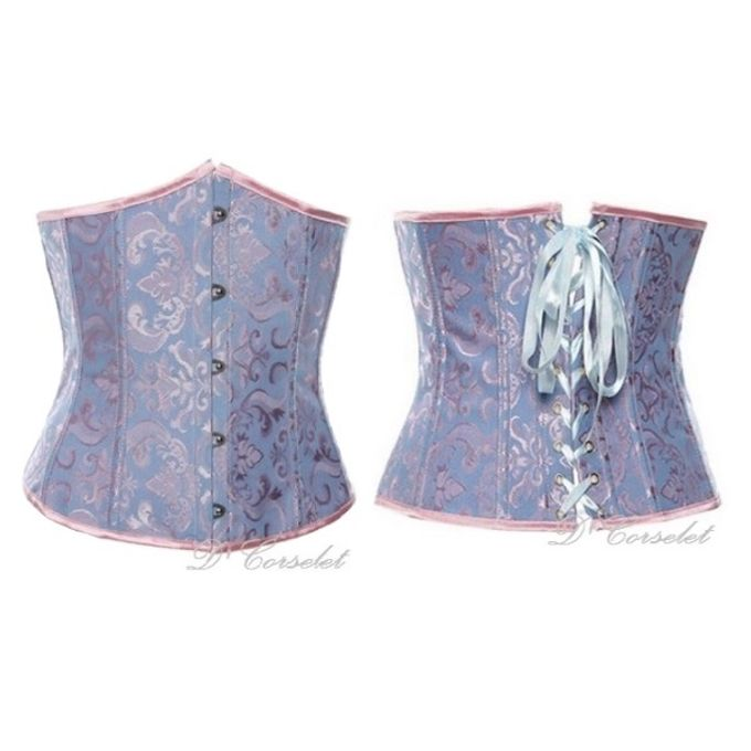 Brocade Underbust by D' Corselet Singapore - 004