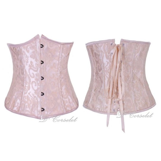Brocade Underbust by D' Corselet Singapore - 003