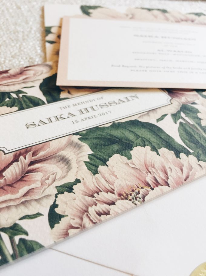 Lush Peonies by Spinsugar Stationery - 003