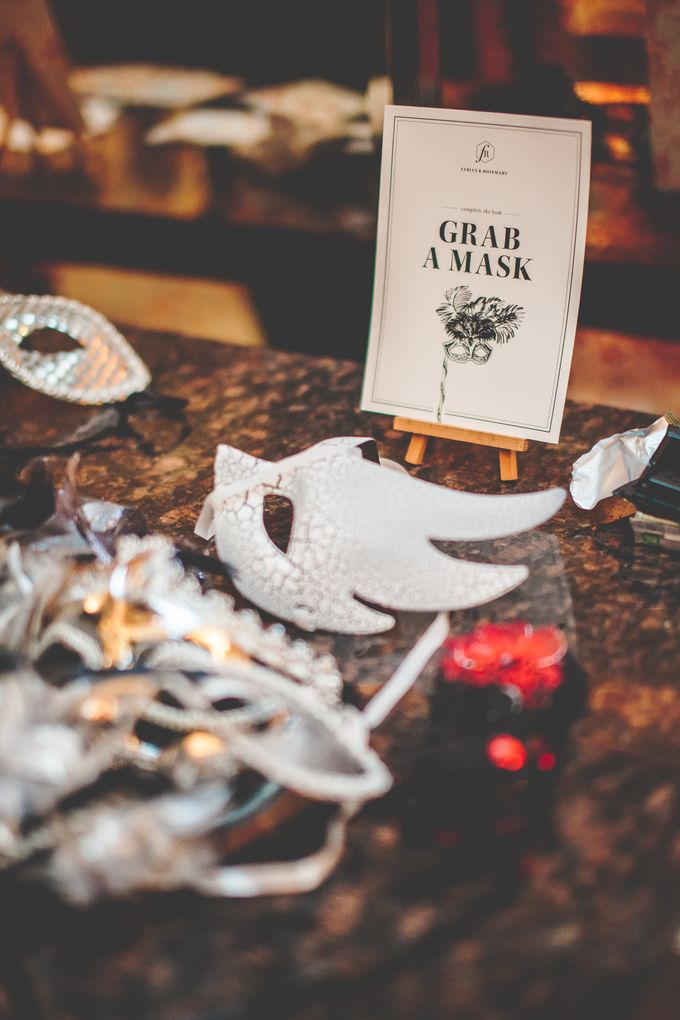 Glamorous Masquerade by Chere Weddings & Parties - 022