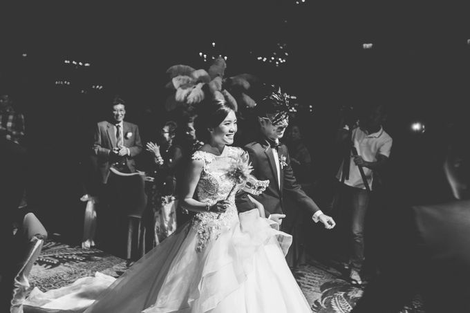 Glamorous Masquerade by Chere Weddings & Parties - 021