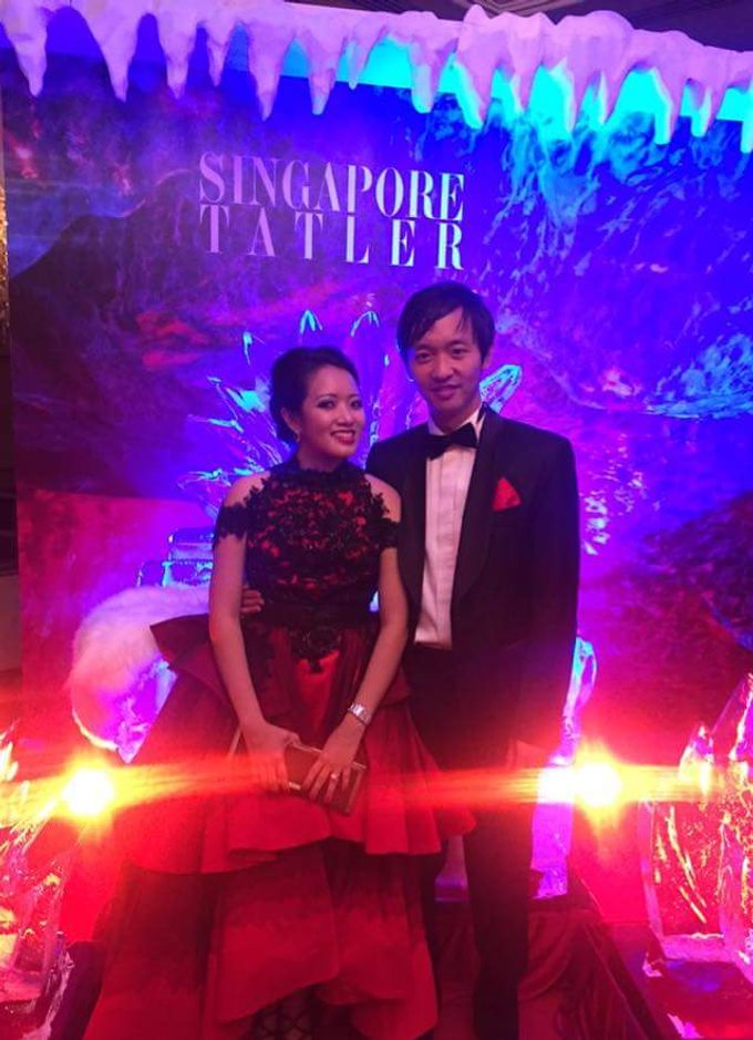 Singapore Tatler Ball 2015 - Fire and Ice by Nicolas Laville Couture - 006