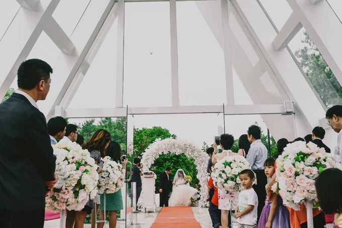 Holy Matrimony of Amory and Ria at Green Forest Resort Bandung by Sparkling Organizer - 021