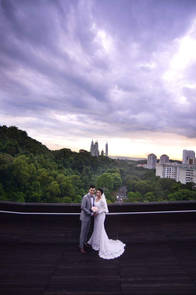 Wedding Album of Jhon Tolentino  & Nur Baizura by Invogue Photo Studio - 009