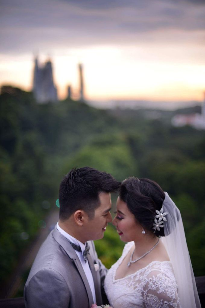 Wedding Album of Jhon Tolentino  & Nur Baizura by Invogue Photo Studio - 008