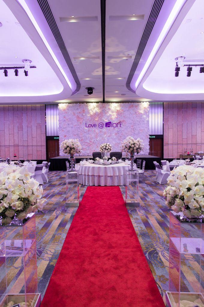 Wedding at Aloft Kuala Lumpur Sentral by Aloft Kuala Lumpur Sentral - 003