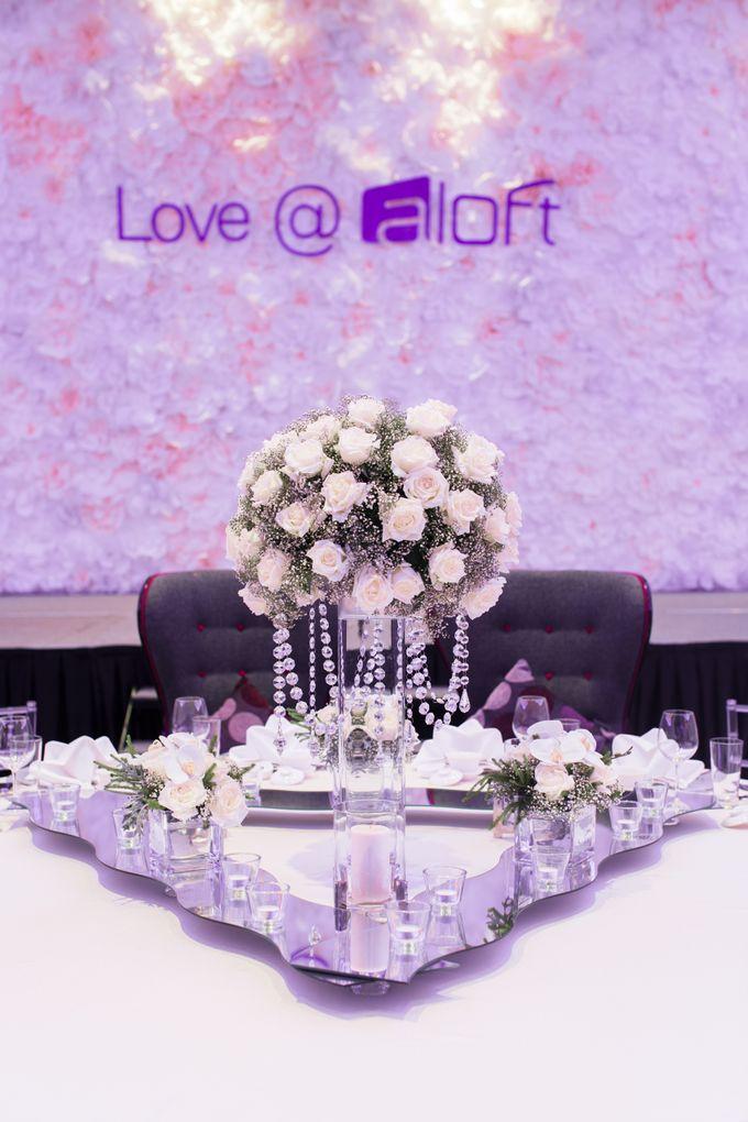 Wedding at Aloft Kuala Lumpur Sentral by Aloft Kuala Lumpur Sentral - 001