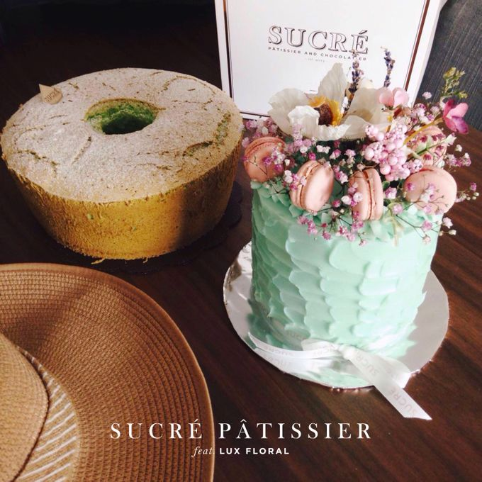 FLORAL CAKE featuring Lux Floral by Sucré Pâtissier and Chocolatier - 002