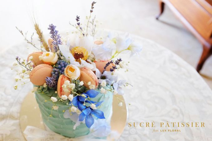 FLORAL CAKE featuring Lux Floral by Sucré Pâtissier and Chocolatier - 004