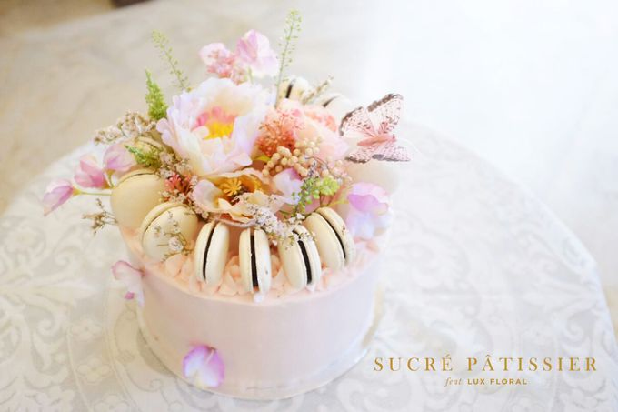 FLORAL CAKE featuring Lux Floral by Sucré Pâtissier and Chocolatier - 006