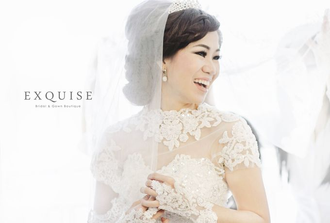 Fonny & Yudi Wedding by Exquise Gowns - 002