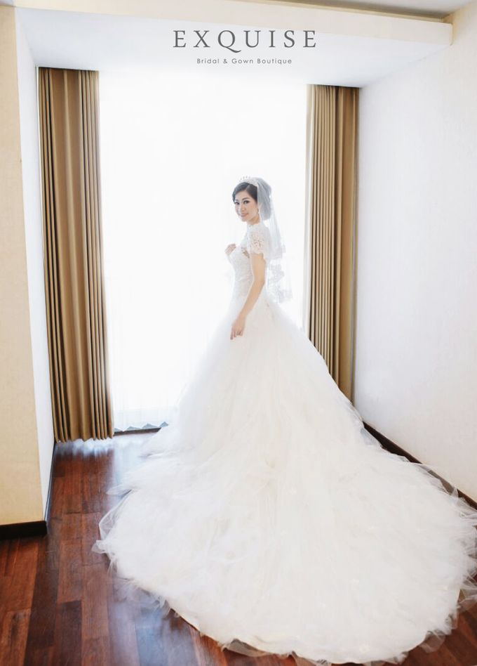 Fonny & Yudi Wedding by Exquise Gowns - 004